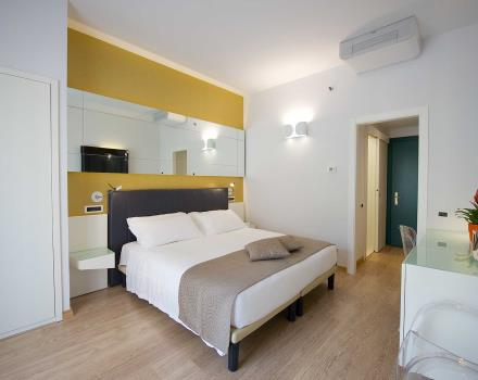 Choose the standard double room at the Best Western Hotel Luxor 3 star hotel in Turin