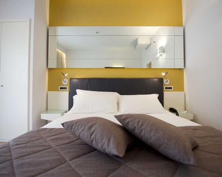 Choose the double standard room of the Best Western Hotel Luxor 3-star in Turin