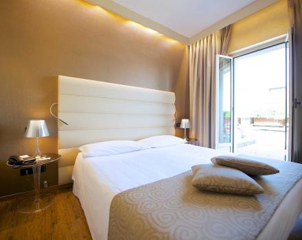Le camere superior del Best Western Hotel Luxor 3 stelle