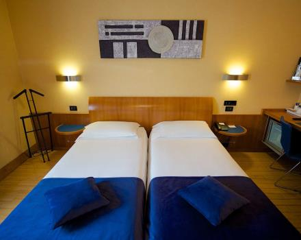 Le camere standard del Best Western Hotel Luxor 3 stelle