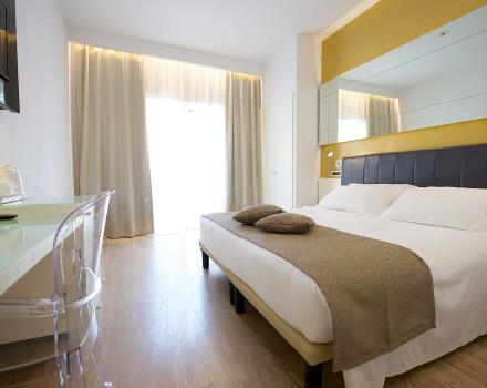 Comfort and service in a standard room at the Best Western Hotel Luxor in Turin