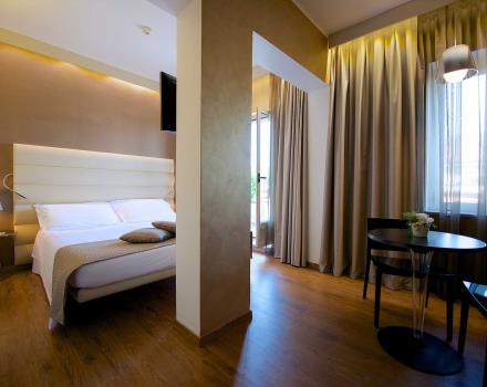 Choose the superior room at the Best Western Hotel Luxor 3 star hotel in Turin