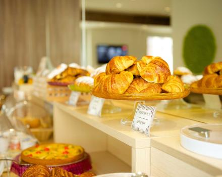 The tasty breakfast products at the Best Western Hotel Luxor in Torino
