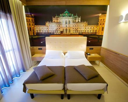 Le junior suite del Best Western Hotel Luxor. 3 stelle a Torino