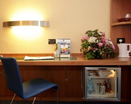 Discover the comfortable rooms at the Best Western Hotel Luxor in Turin