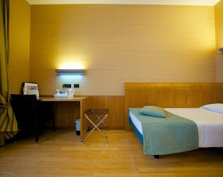 Standard single Chambres-Hotel 3 étoiles à Turin, le Best Western Hotel Luxor