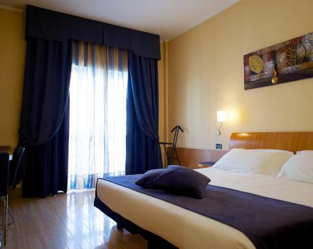 Choose the superior double room at the Best Western Hotel Luxor 3 star hotel in Turin