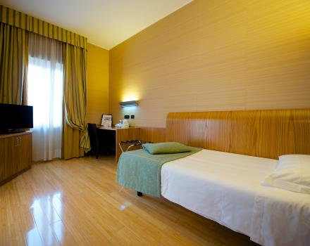 Comfort even if you travel alone in our single rooms