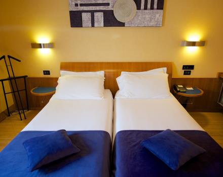 Twin rooms have spacious and comfortable twin beds: BW Hotel Luxor is waiting for you!