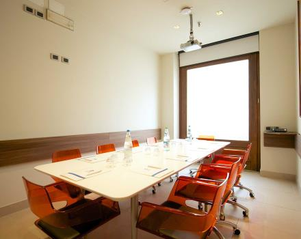 Discover the meeting rooms of the BW Hotel Luxor in Turin