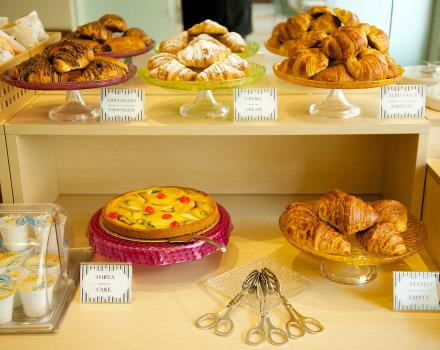 Tasty breakfast buffet at Best Western Hotel Luxor, 3-star in Turin