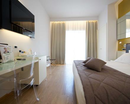 Choose the standard room of BW Hotel Luxor 3 star hotel in Turin