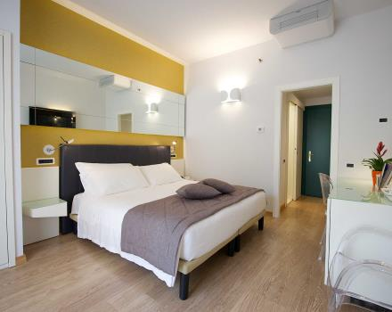 Choose the classic double room at the Best Western Hotel Luxor 3 star hotel in Turin
